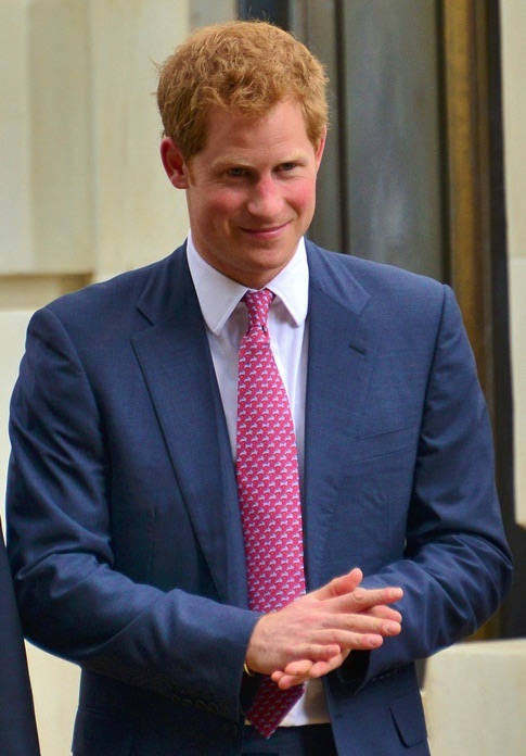 Photo discovered of Prince Harry looking nothing like James Hewitt