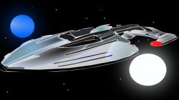 Space ship (PD)