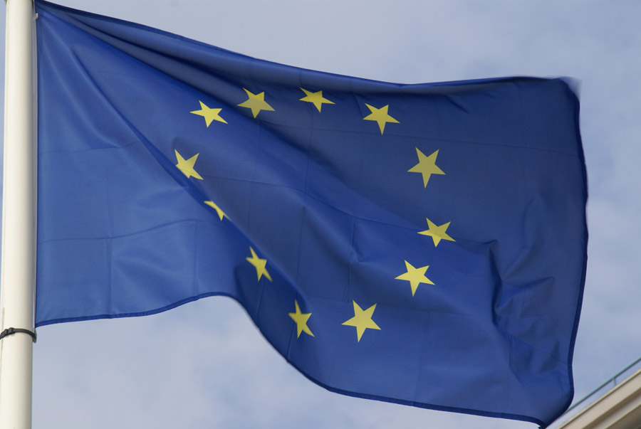 EU flag to fly over Whitehall – permanently
