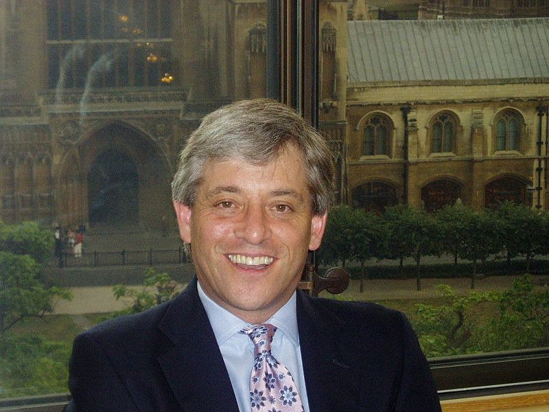 Speaker John Bercow applauds voter apathy