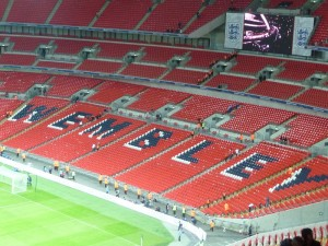 Wembley Stadium by Lewis Clarke