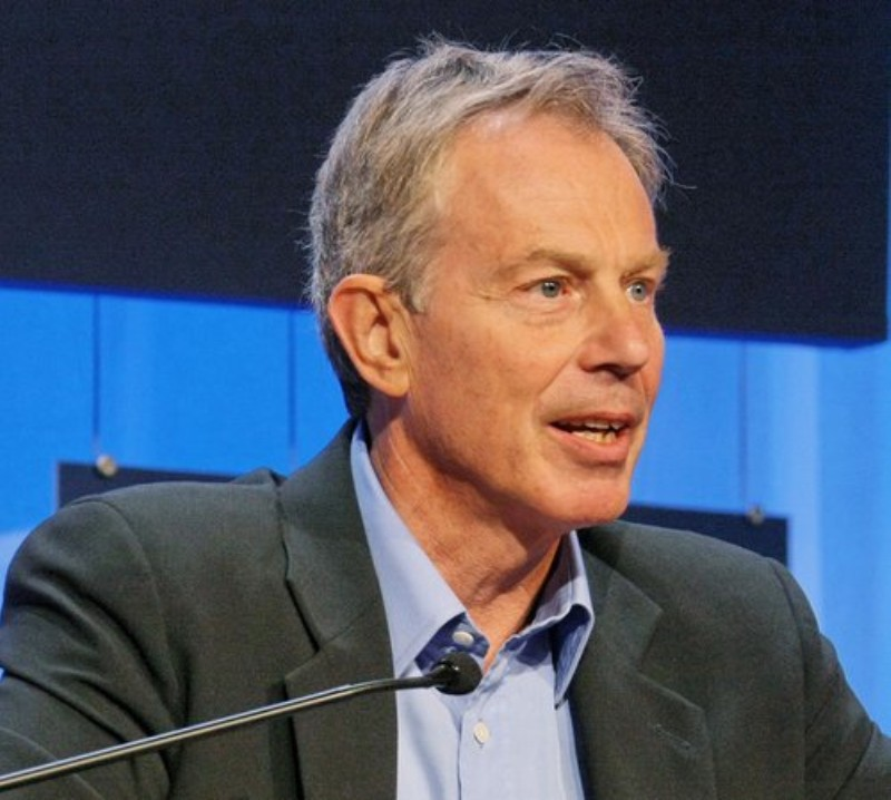 I'm back! Says Tony Blair